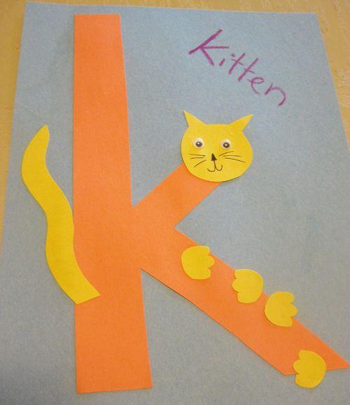 Pin Pa Alphabet Activities Letter k activities for preschool