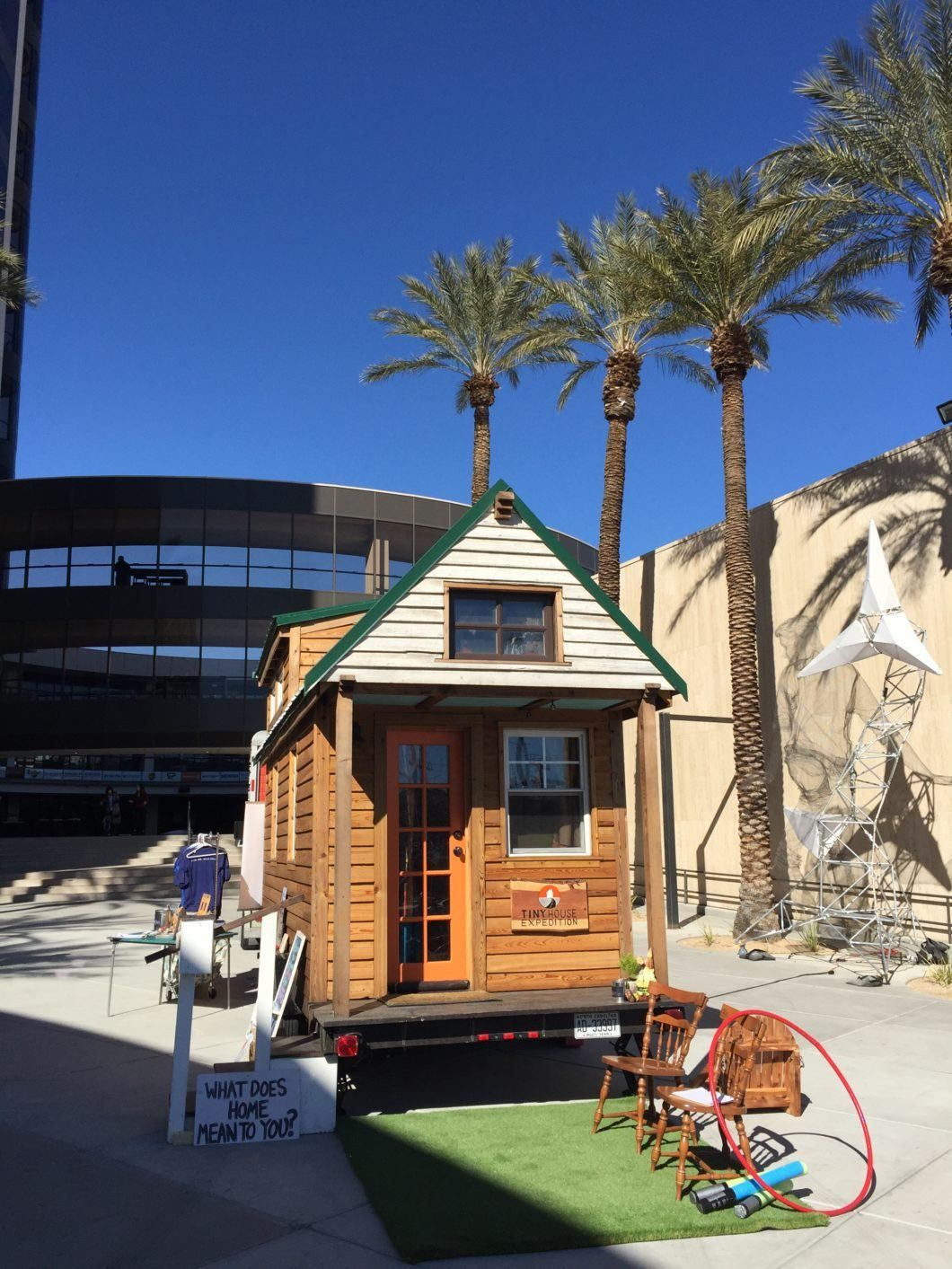 Strange A Heart Warming Tiny House Story From Las Vegas Tiny House Home Interior And Landscaping Palasignezvosmurscom