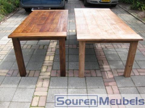Super Donker eiken/ teak meubelen lichter maken? | Tafel Kopen | Meubels RK-43