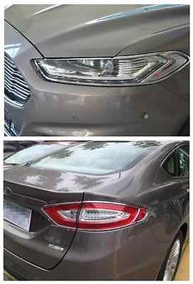 Front headlight rear tail light lamp cover trim for ford fusion cheap for ford fusion buy quality light trim directly from china trim cover suppliers chrome front headlight rear tail light lamp cover trim for ford fandeluxe Images
