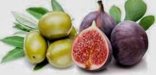 التين والزيتون وفوائدهما Fruit Food Olive