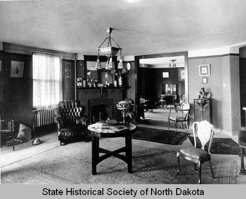 Patterson Hotel Room Interior, Bismarck, N.D. :: State Historical Society  Of North Dakota