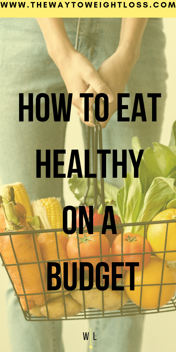 Eating Healthy on A Budget #healthyliving