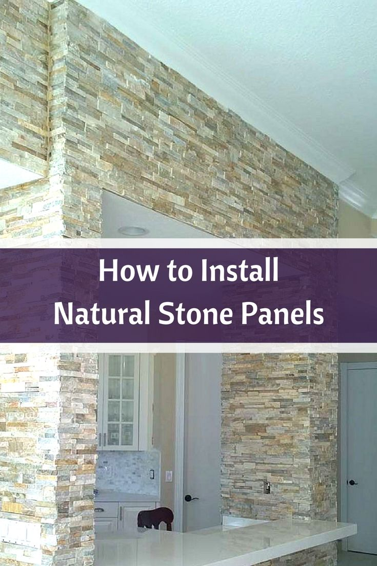How To Install Natural Stone Panels Veneer
