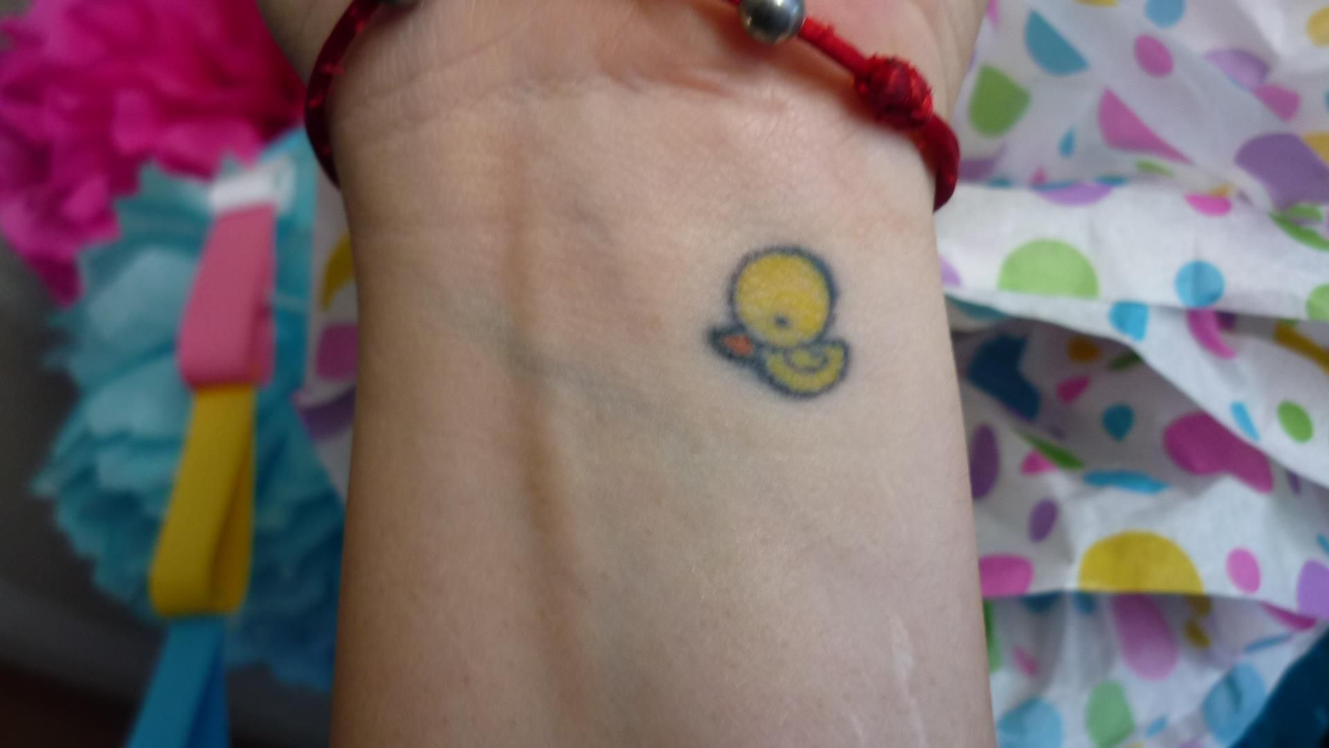 6bab52039 Little duck tattoo; in memory of my grandma if she were to pass ...