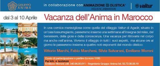 Animazione Olistica, Valtur e Anima Edizioni