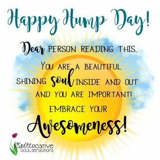 Happy Hump Day | Inspiring, uplifting, motivational daily ...