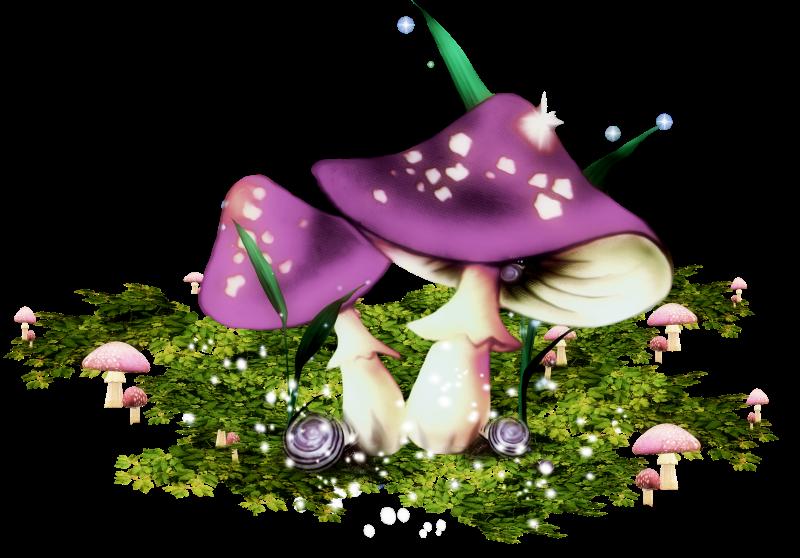 картинки с грибами анимационные