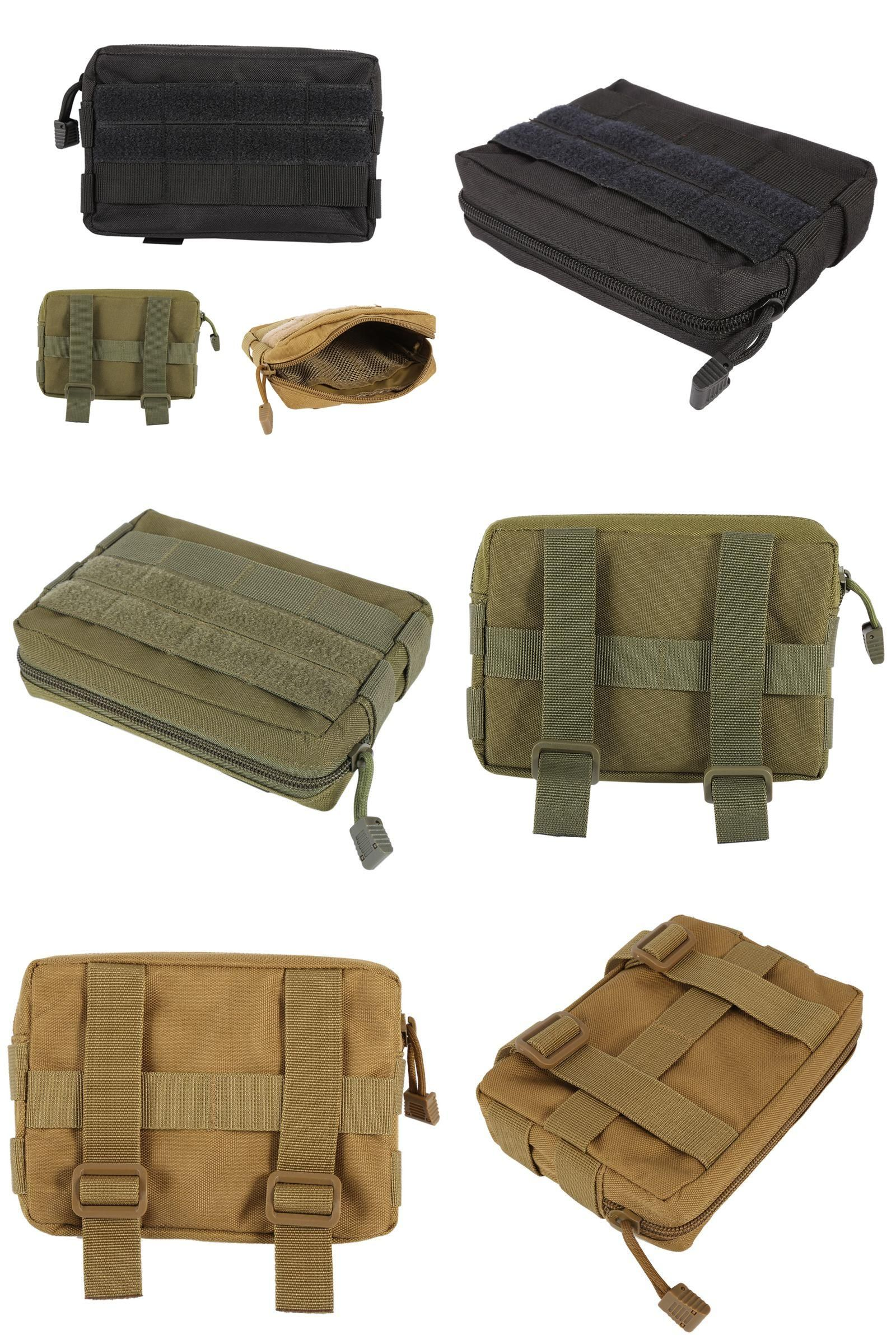 Climbing Bags Camping & Hiking High Quality Nylon Tactical Military Small Utility Pouch Nylon Bag Waterproof Mini Bagged Gear Tools Pouch Kit Accessories Bag