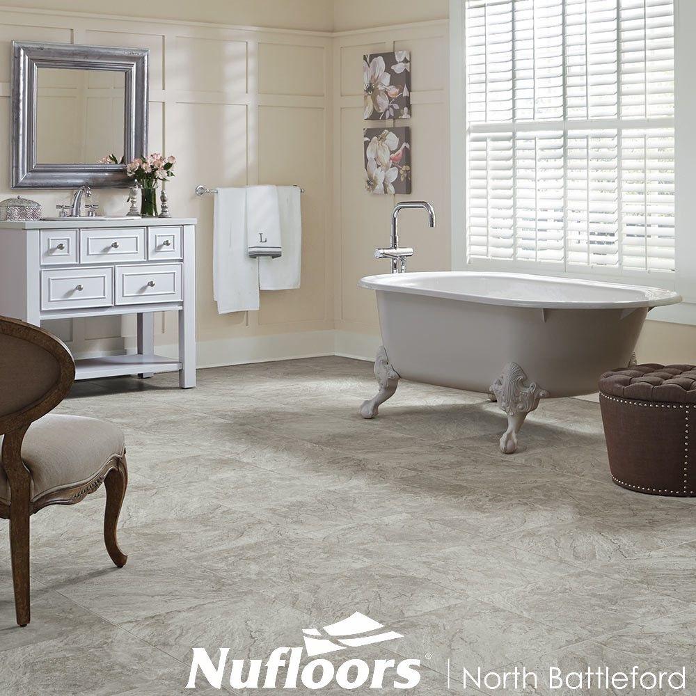 Century by Mannington Bathroom flooring options, Luxury
