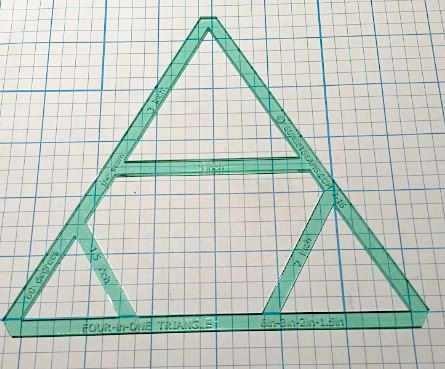 Pyramid Triangle FourInOne Equilateral Triangle  Inch