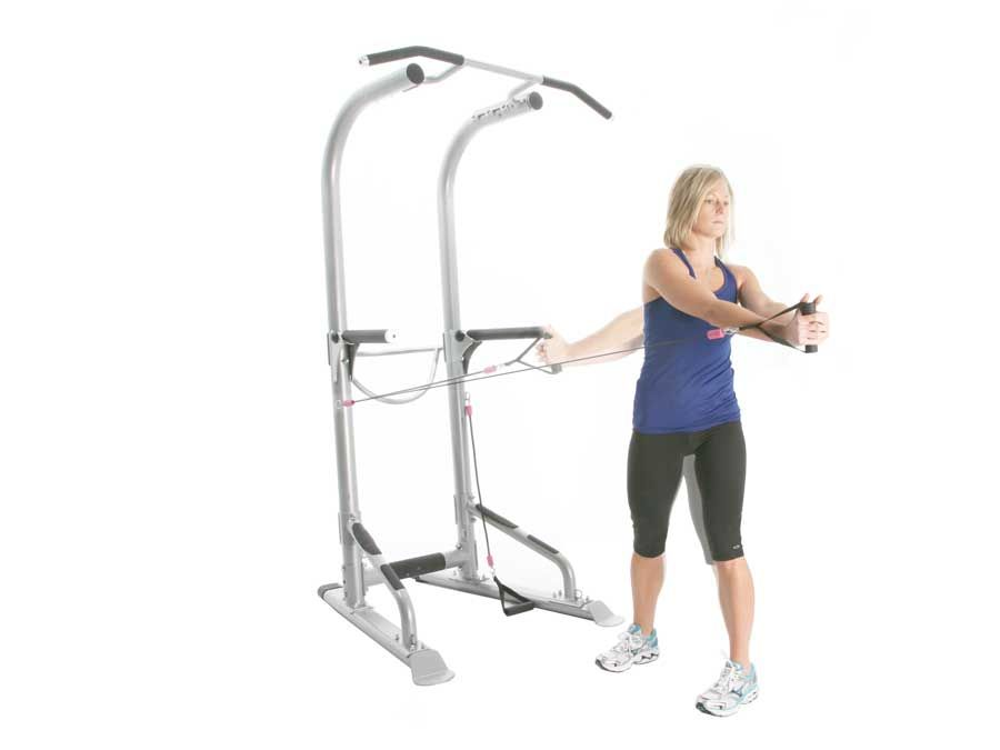 T3 Total Training Tower Home Gym Body Weight Training Power Tower Muscles In Your Body