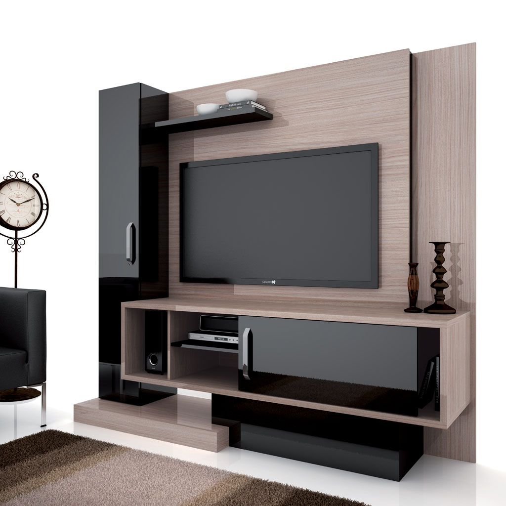 Mueble led tv rinnova pinterest cl for Tv cabinet designs for hall