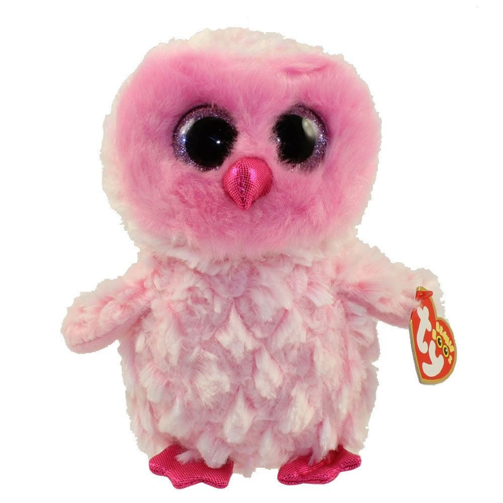 7af0ccb9584 Current 165959  Ty Beanie Boos 9 Medium Twiggy The Owl Stuffed Animal Plush  Mwmt S Heart Tags -  BUY IT NOW ONLY   10.95 on eBay!
