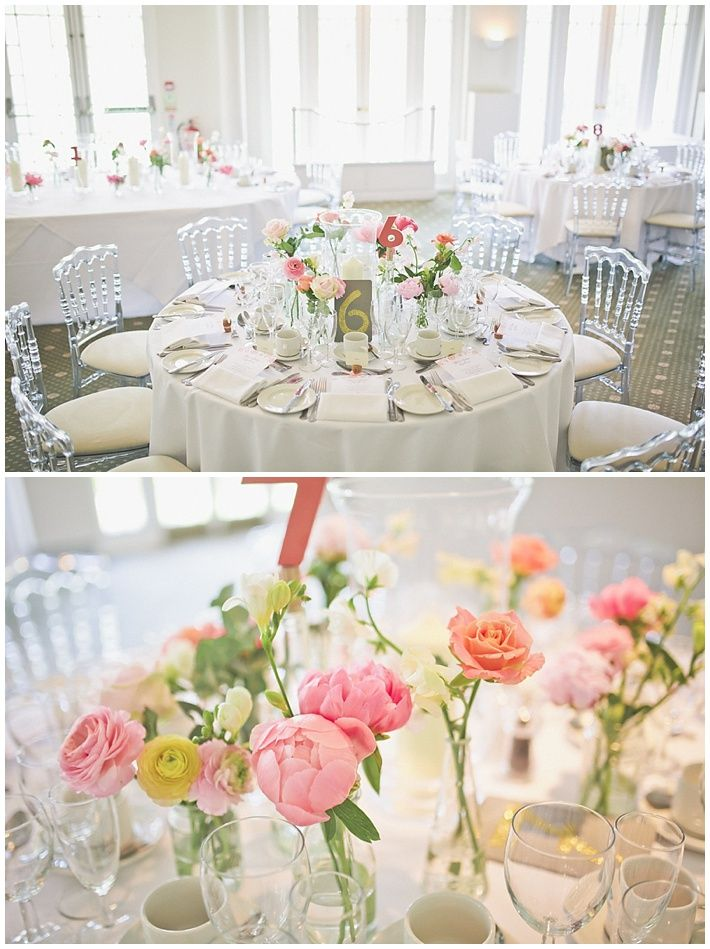 If I Have To Have Round Tables Flower Layout London Monkey