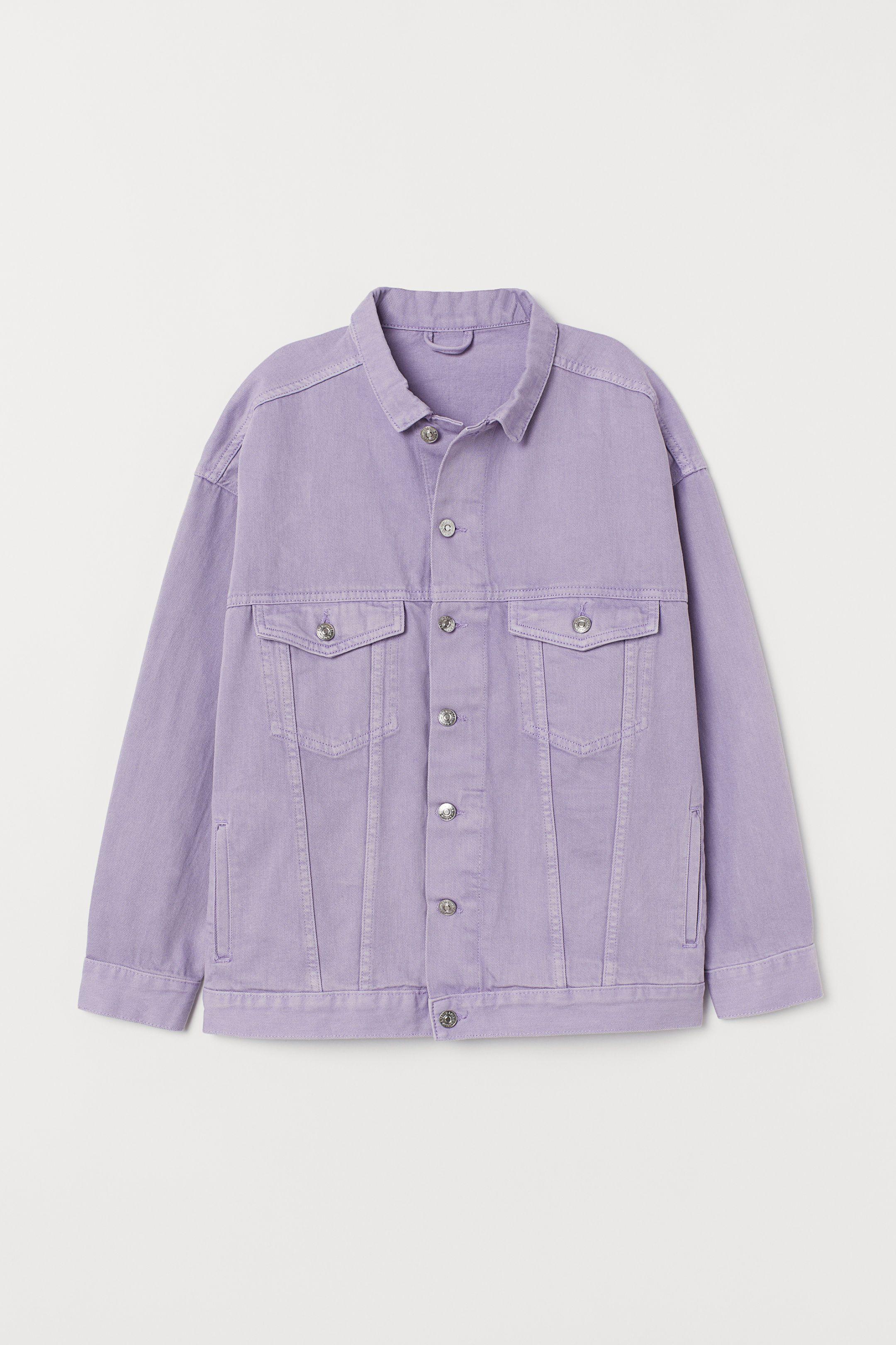Oversized Denim Jacket Lavender Ladies H M Denim Jacket Oversized Denim Jacket Jacket Outfits [ 3240 x 2160 Pixel ]