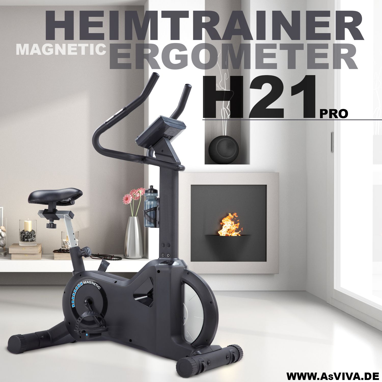 Heimtrainer & Ergometer AsVIVA H21 Pro App Bluetooth
