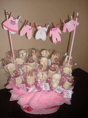 Centros De Mesa Para Bautizo O Baby Shower   $ 350.00