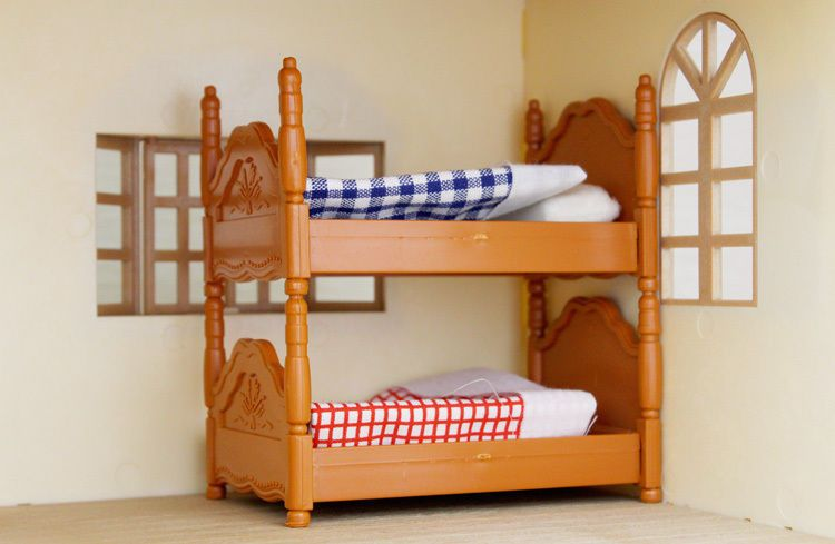 Generic Brand Bunk Bed For Sylvanian Families Furryville Calico