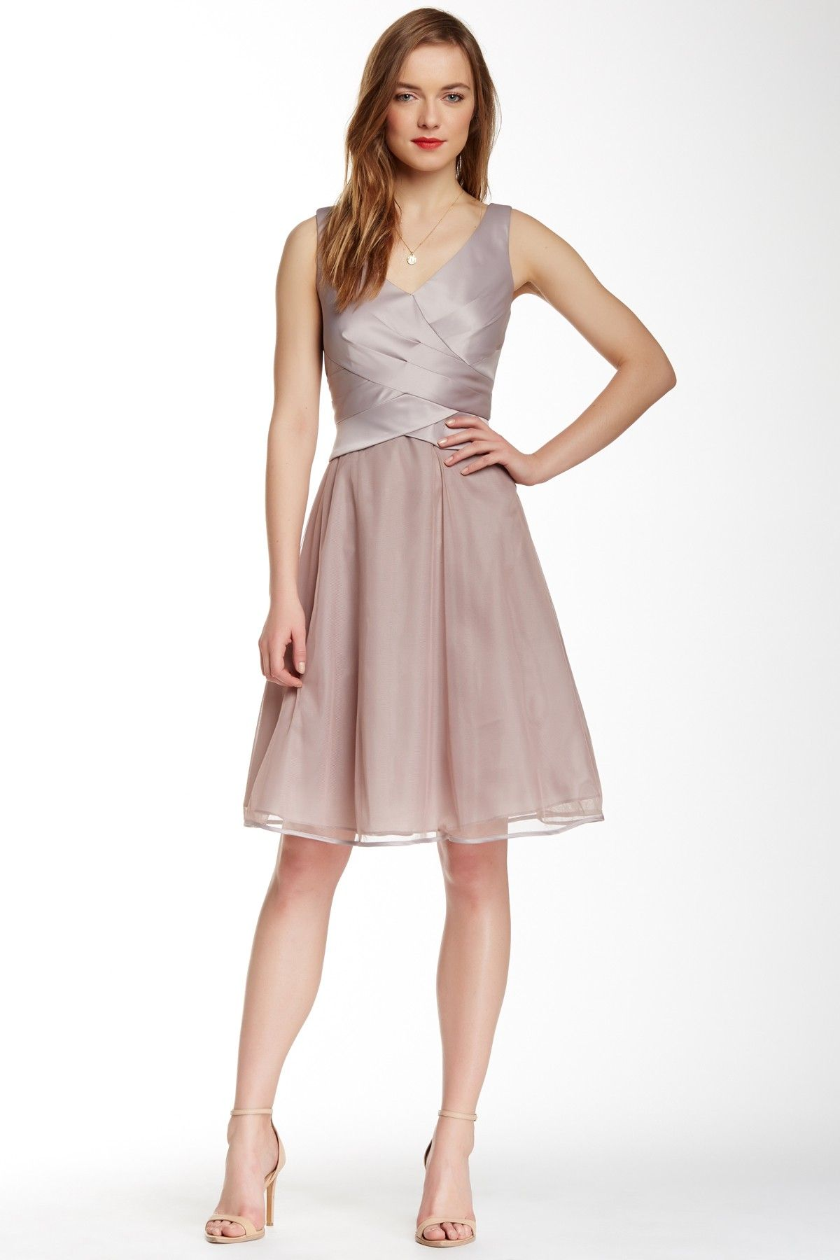 fbcfdc0aed2 Pleated Bodice Occasion Dress