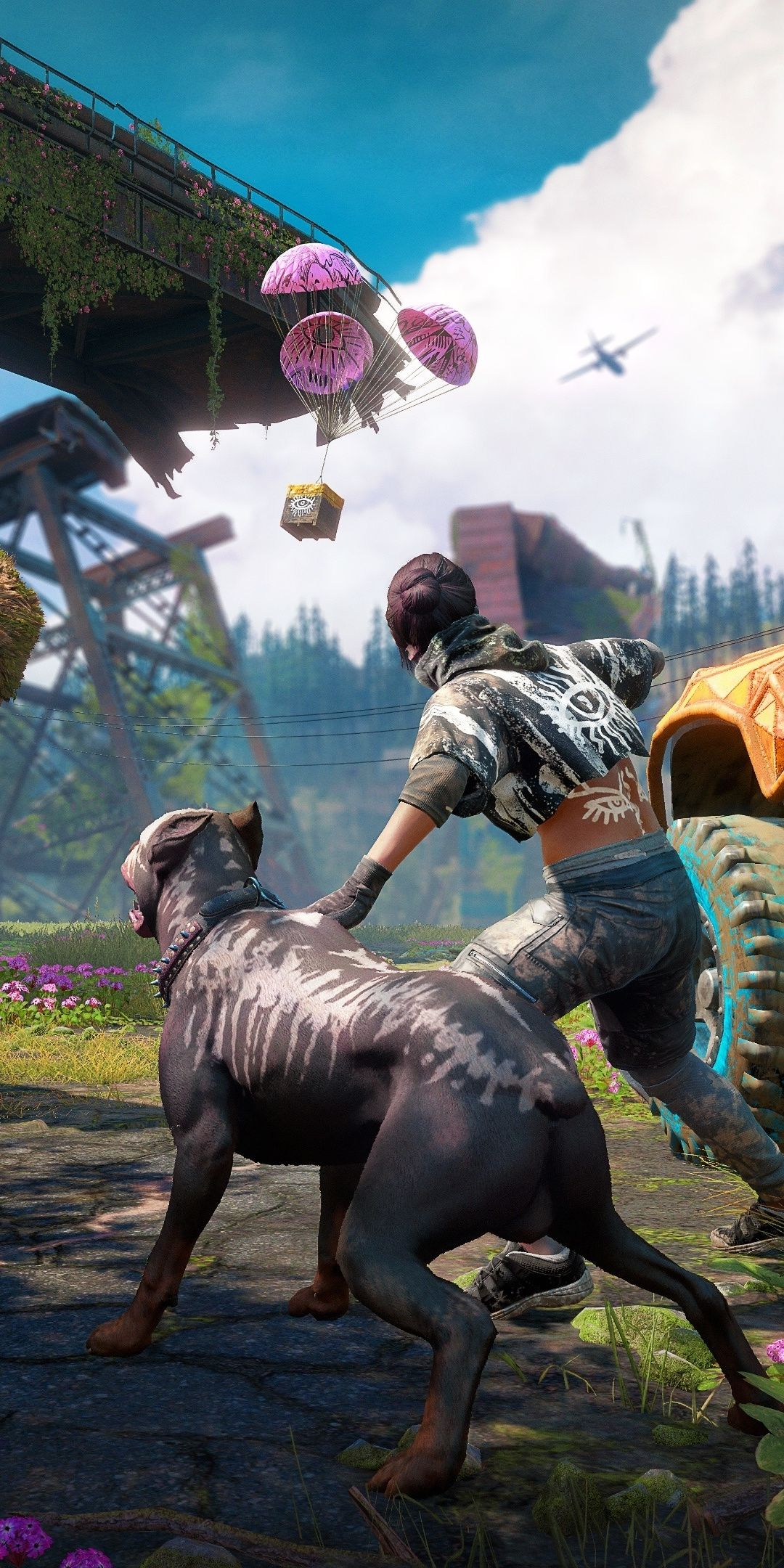 Far Cry New Dawn 2018 Game Video Game 1080x2160 Wallpaper