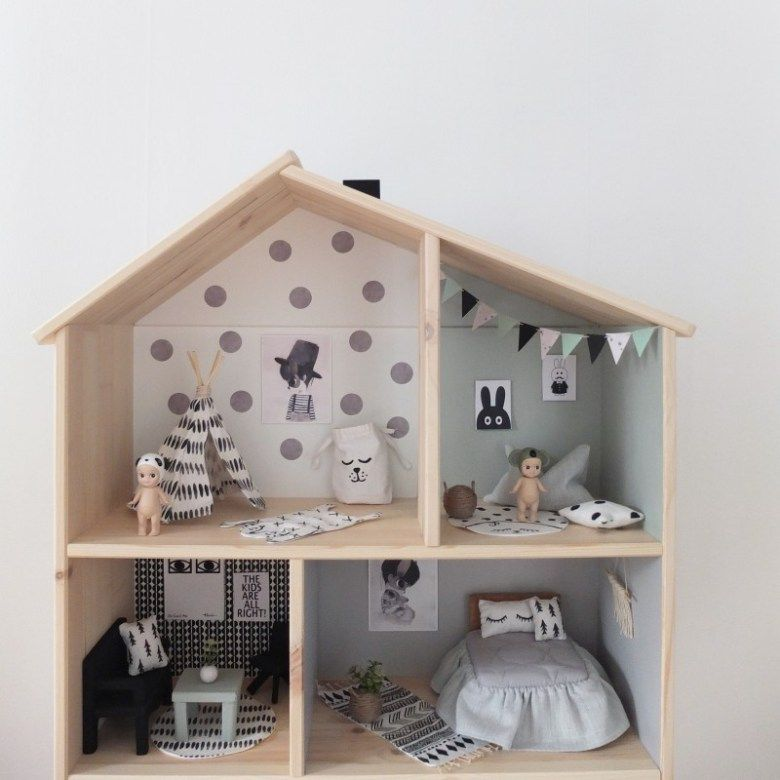 ikea dollhouse unicorns fairytales dollhouse pinterest mini maison minis et faire. Black Bedroom Furniture Sets. Home Design Ideas