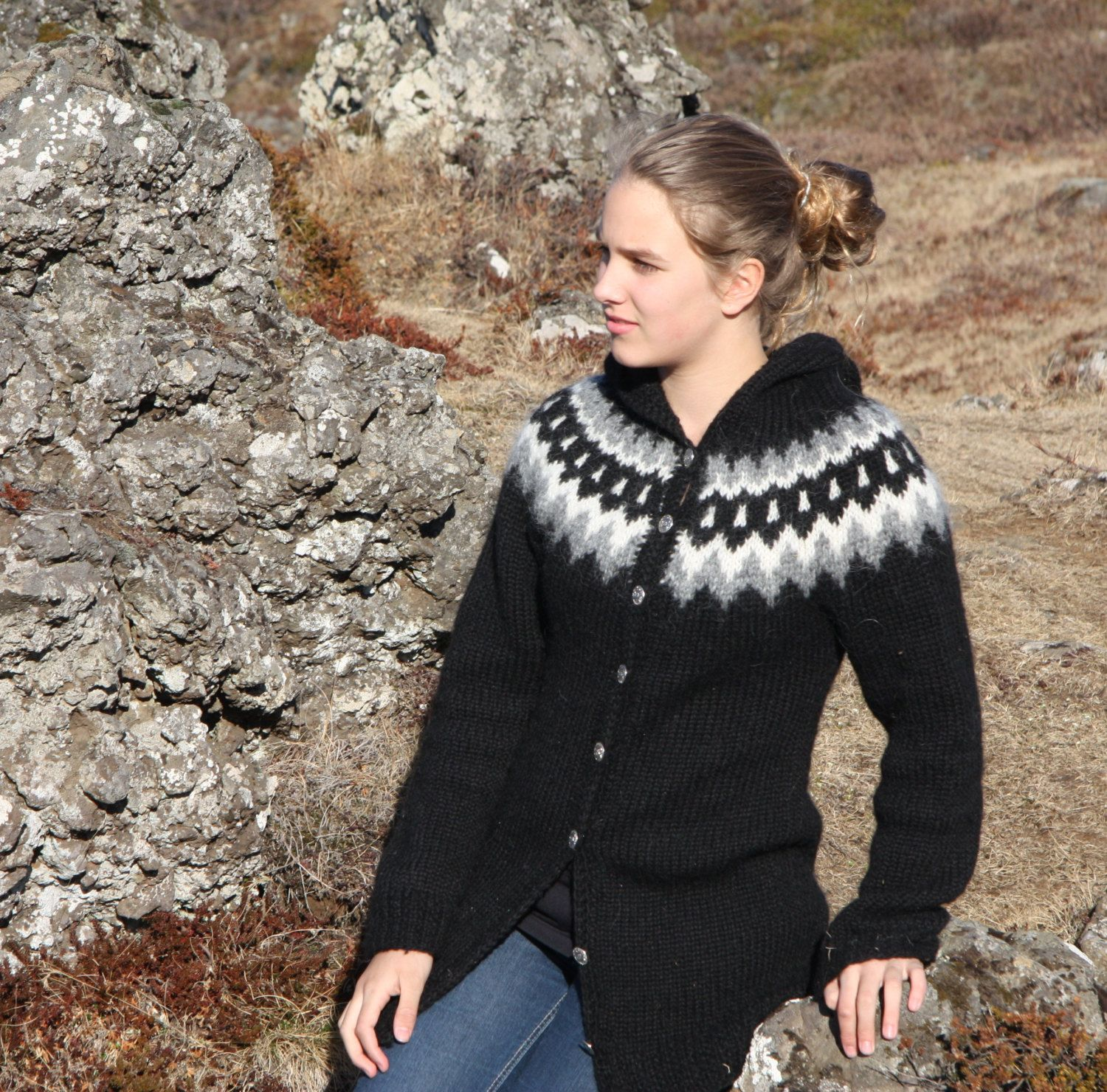 Icelandic sweater lopapeysa | Norway knit | Pinterest | Icelandic ...