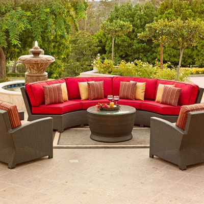 sunnyland patio furniture cabo woven contour sofa by northcape