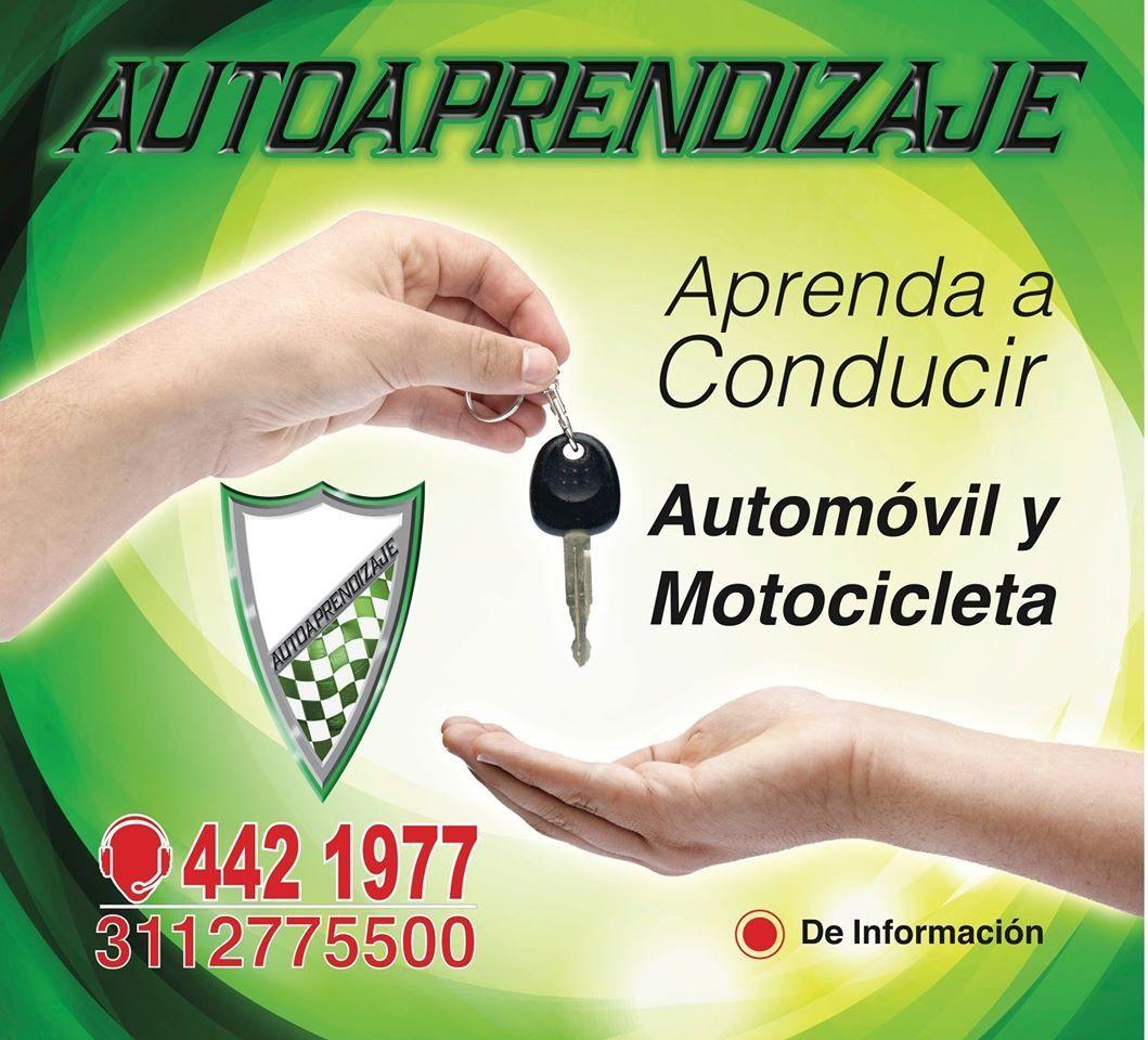 Que esperas para aprender a conducir? Cursos de conduccion para automóvil y motocicleta  Fácil, rápido y técnicamente Obtenga su licencia de conduccion Legal Bogota - Colombia