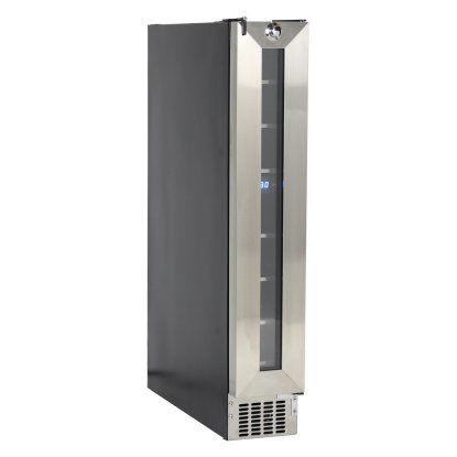Equator Deco WR 007 Stainless Steel 7 Bottle Slim Wine Refrigerator