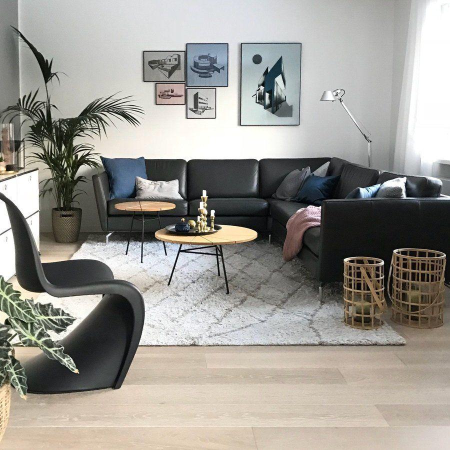 Wohnzimmer | SoLebIch.de Foto:dannnehmeichkeinen #solebich #wohnzimmer  #ideen #skandinavisch #Möbel #Einrichten #modernes #wandgestaltung #farben # Holz ...