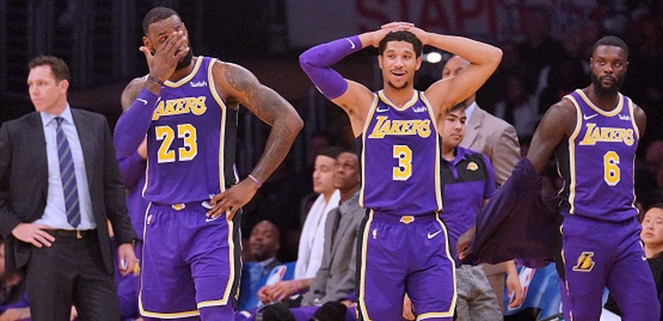 Nba Trade Talk La Lakers Will Probably Trade One Of Their Key Players For Another Star Los Angeles Lakers Nba Trades La Lakers