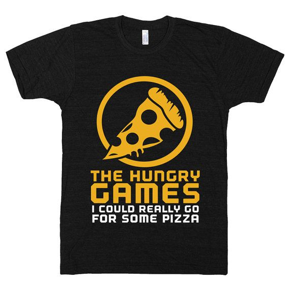 The Hungry Games Hunger Pizza Parody Funny Cheese by ProxyPrints, $19.00