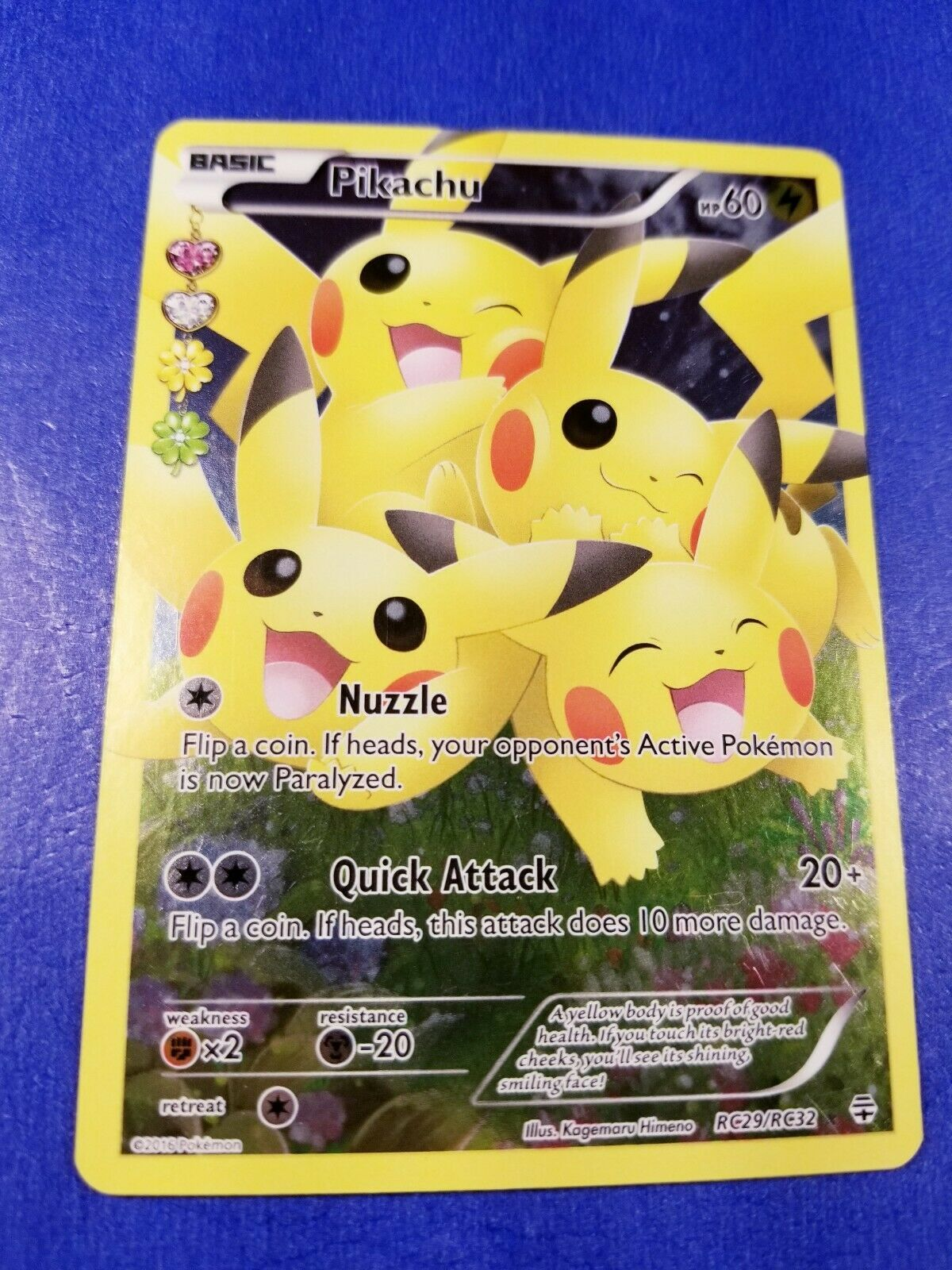 Pikachu rc29rc32 generations radiant collection full art