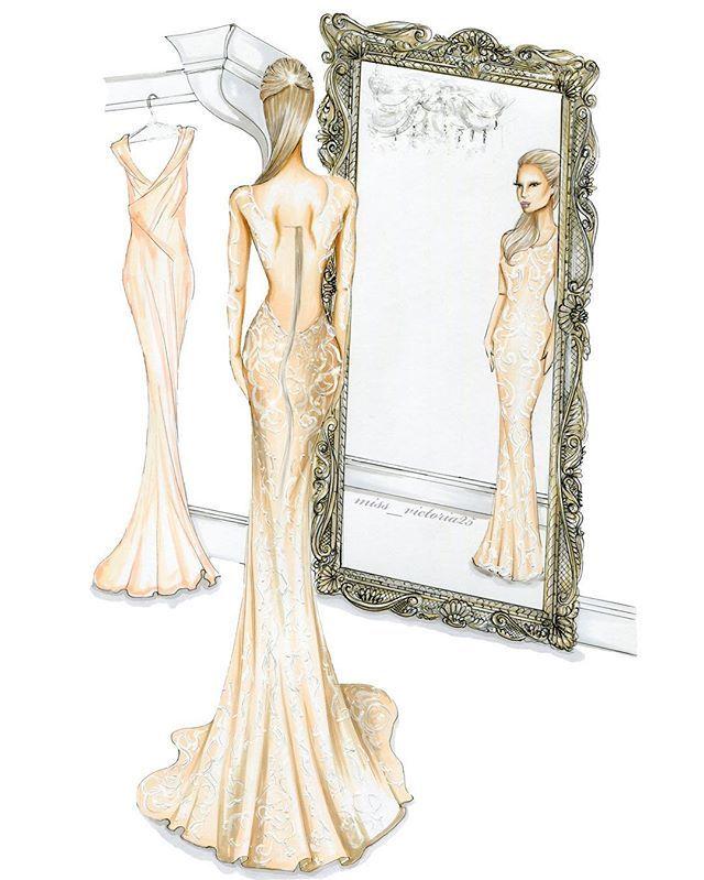 P A R I S ✨✨ @parishilton #charbelzoecouture #parishilton #glam #glamour #beauty #fashion #vintage #gown #illustration #art #instaartist #vogue #rococo #elegance #fashionillustration #copicmarkers