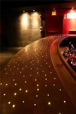 Lights Bar Fiber Optic Concrete Countertops The Impressionist Brooklyn Ny