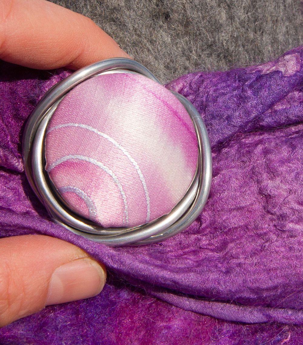 Handpainted Silk. Loopster. von seidenhase auf Etsy