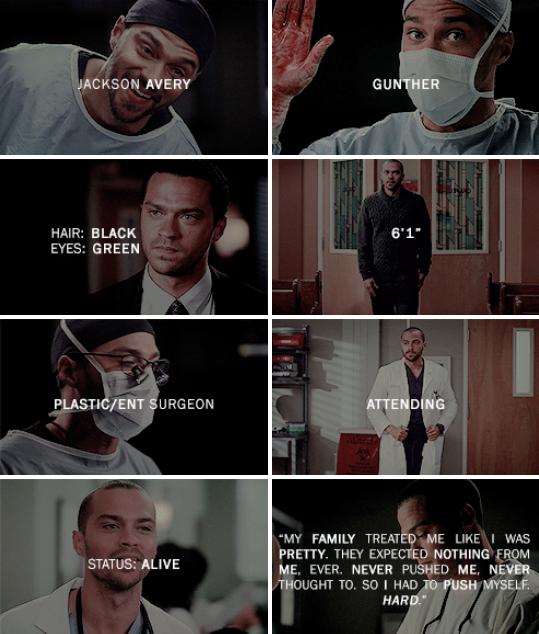 Greys Anatomy, Jackson Avery, 50 Shades Of Grey