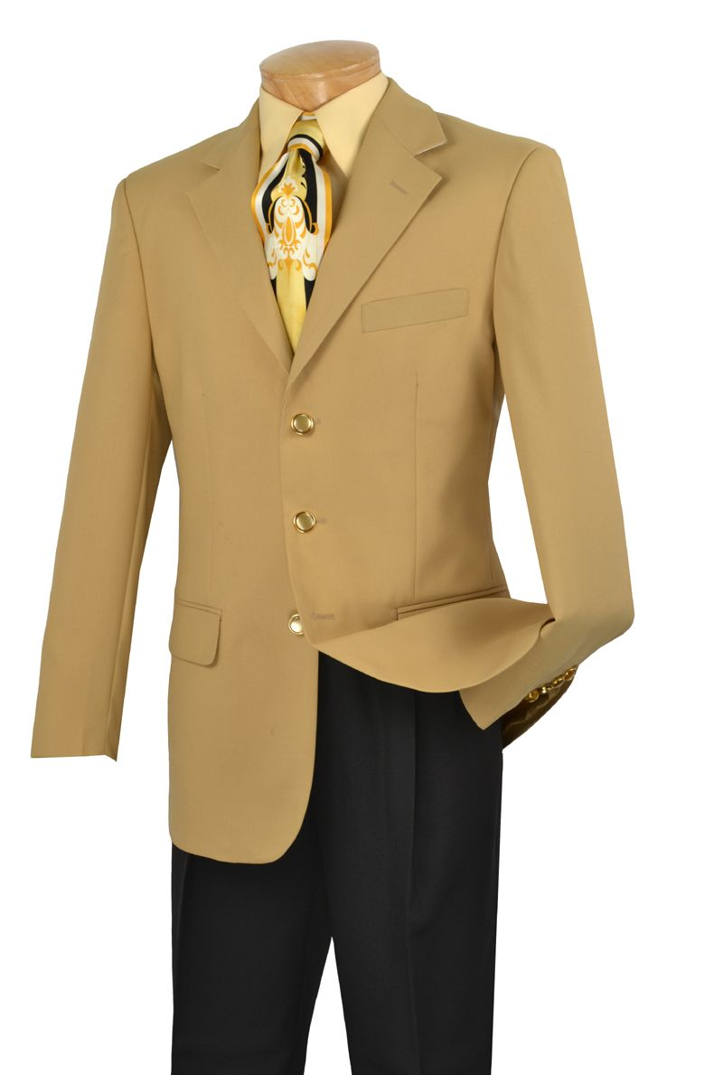 Mens Sport Coat by Lucci 3 Button Single Breasted Blazer Z-3PP ...