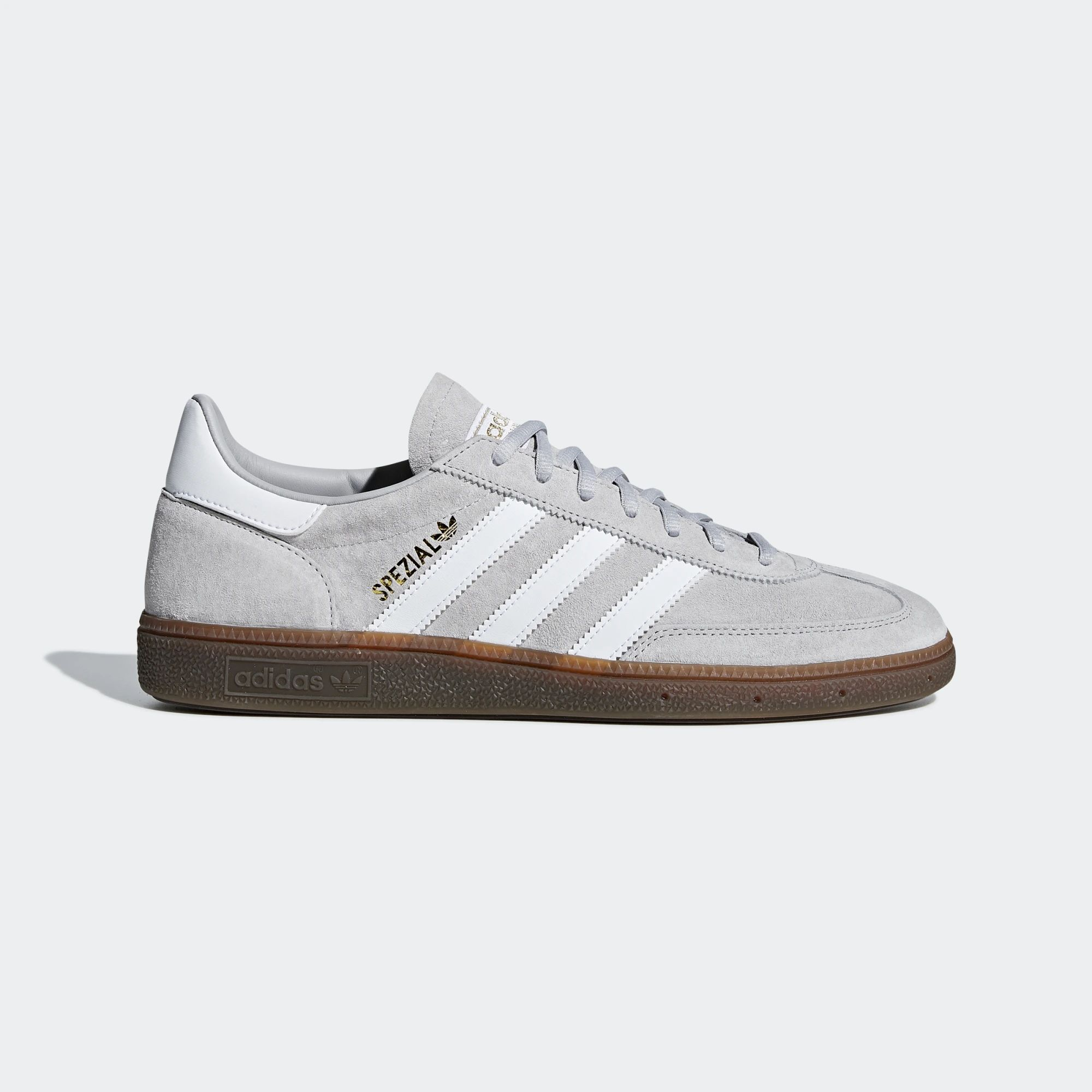 Adidas Handball Spezial Shoes Grey Two Ftwr White Gum