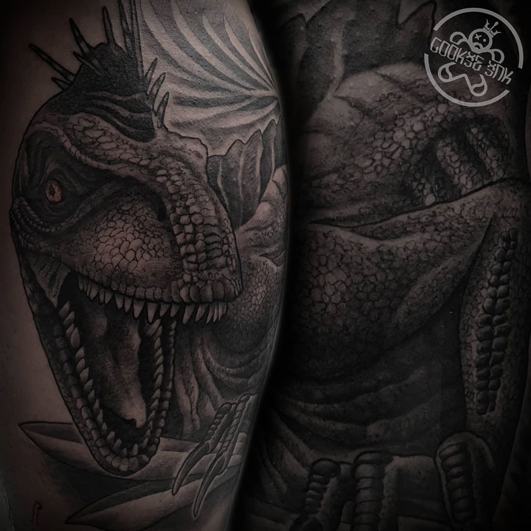 #inkart #inked #art #artist #uktattooartists #uktattoo #uktattooist #uktattooartist #uktattoos #dinosaur #uktattooer #edinburgh #raptor #edinburghtattooartist #edinburghcity #edinburghlife #scotland #uk #tattoo #ink #tattooed #inkoholic #instagram #follow #cookieink #cookie_tatz #cookietatz #tattoodesigns #tattoodesign #tattoos