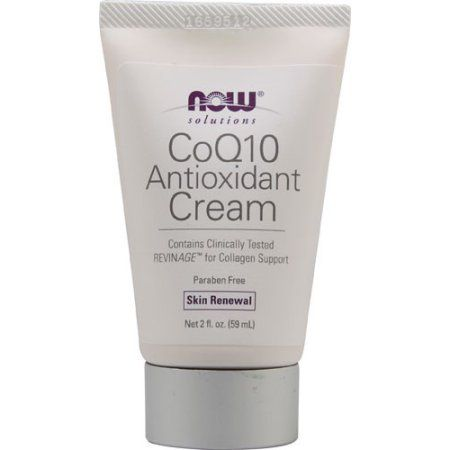 NOW Foods Solutions CoQ10 Antioxidant Cream, 2 Fl Oz