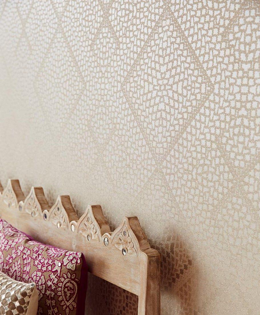 Yamuna | Geometrical Wallpaper | Wallpaper Patterns | Wallpaper From The 70s
