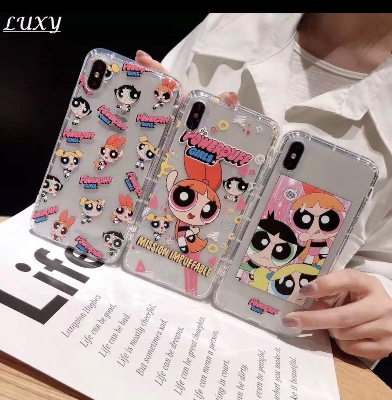 Cute powerpuff girls iphone case cover on mercari in 2020