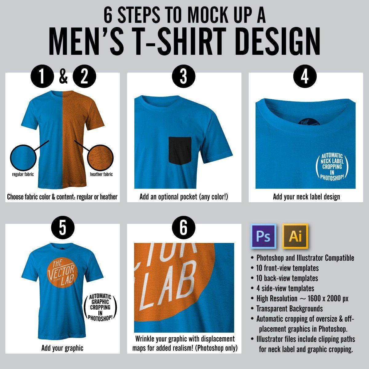 t shirt design template