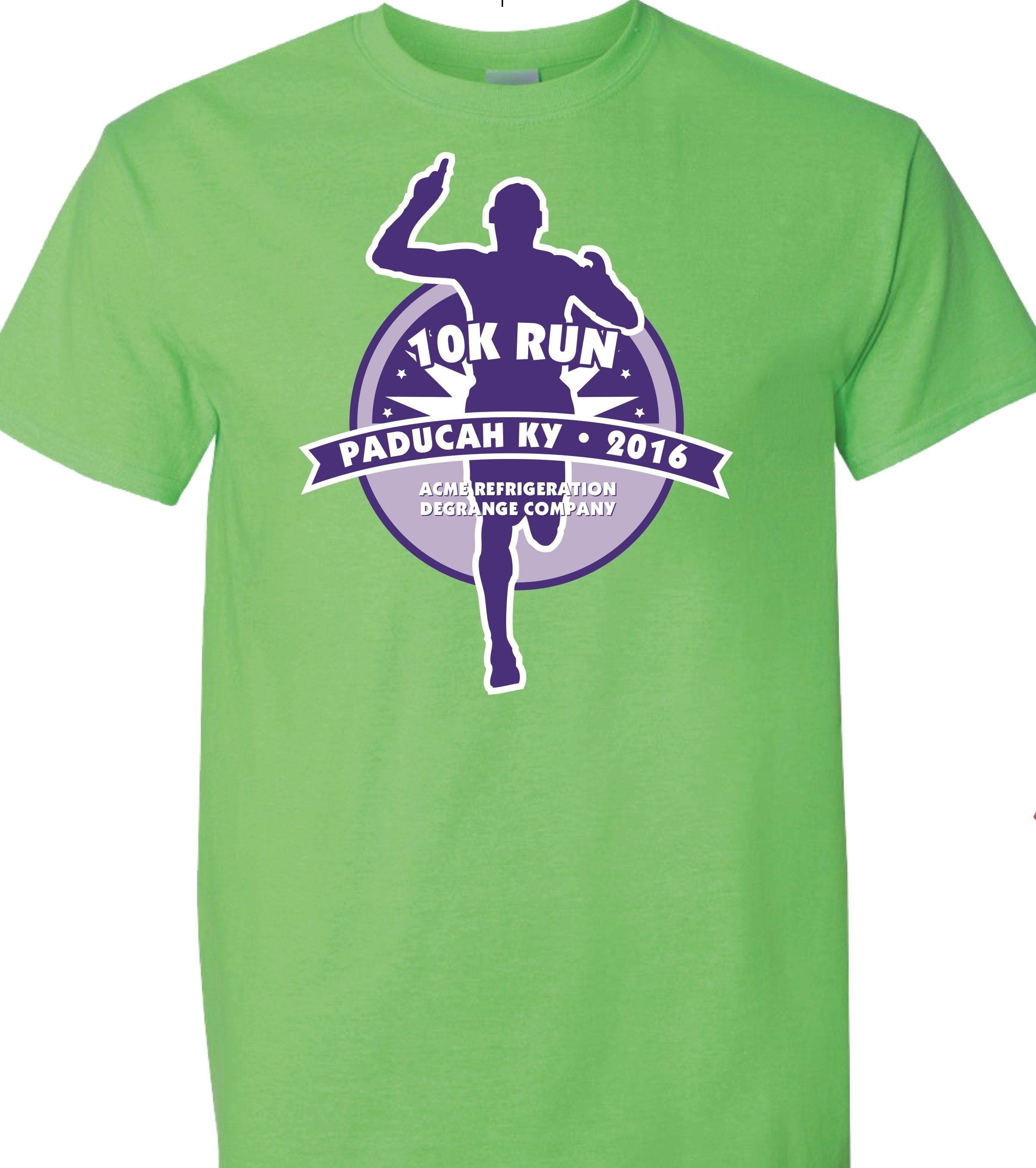 5k Tee Design For Paducahs 10k Run Like This Design Let Us Help