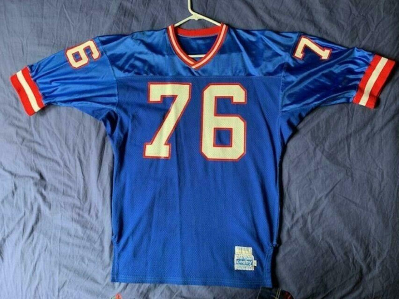Men S Vintage 80 S Gerry Cosby Nfl New York Giants Jersey 76 Size Xl New York Giants Jersey Nfl New York Giants New York Giants Logo