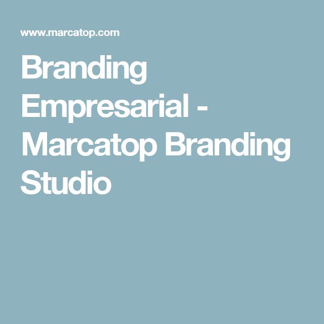 Branding Empresarial - Marcatop Branding Studio