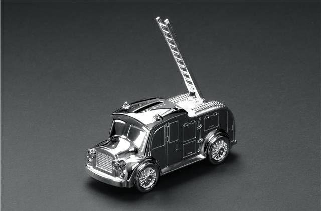 Fire Engine Money Box - Personalised - The Online Children's Store - Fudge Kids UK
