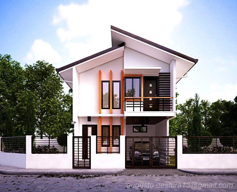 Desain Rumah 2 Lantai Dwg  desain rumah minimalis 2 lantai idaman rumah minimalis